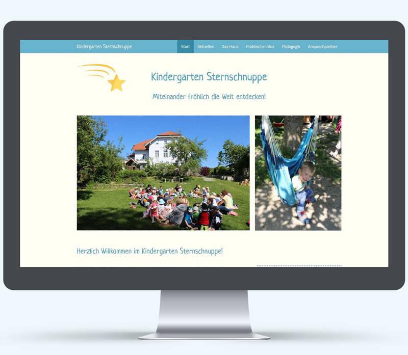 Kindergarten-Sternschnuppe